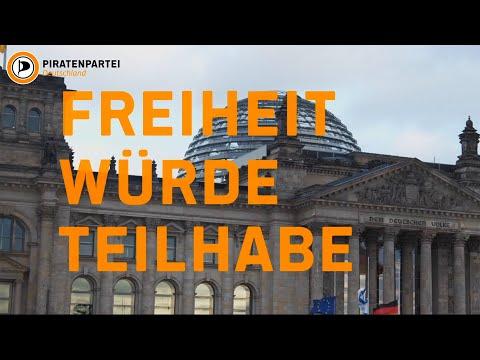 Wahlwerbespot der Piratenpartei Deutschland zur Bundestagswahl 2021