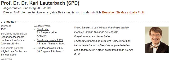 Screenshot Lauterbach