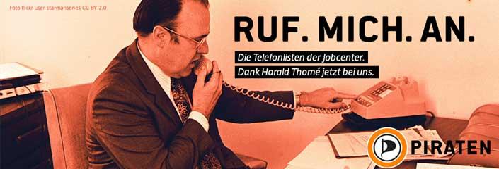 Ruf. Mich. An. Die Telefonlisten der Jobcenter. (Foto: flickr user starmanseries CC BY 2.0)