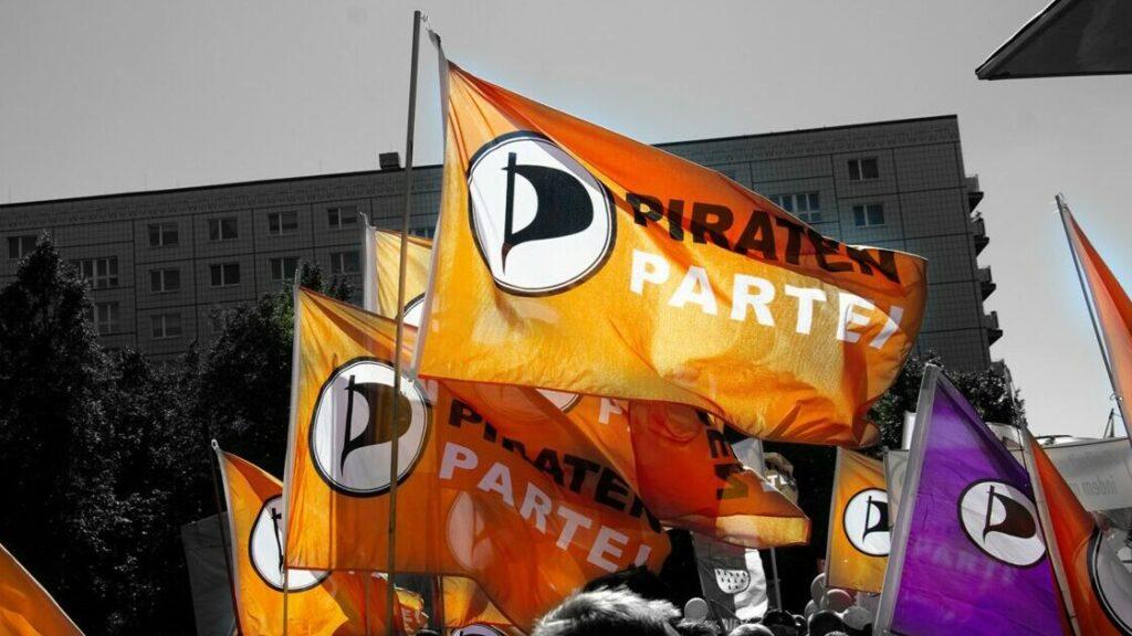 Fahnen beim Bundesparteitag 2019.2