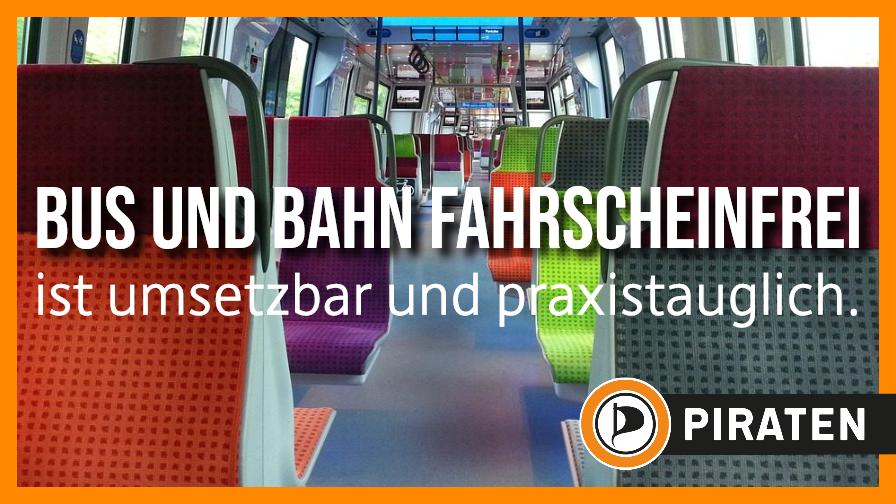 Bus und Bahn fahrscheinfrei  ist umsetzbar und praxistauglich