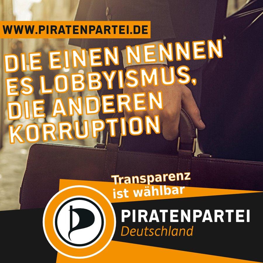 Die einen nennen es Lobbyismus, die anderen Korruption. Transparenz ist wählbar.