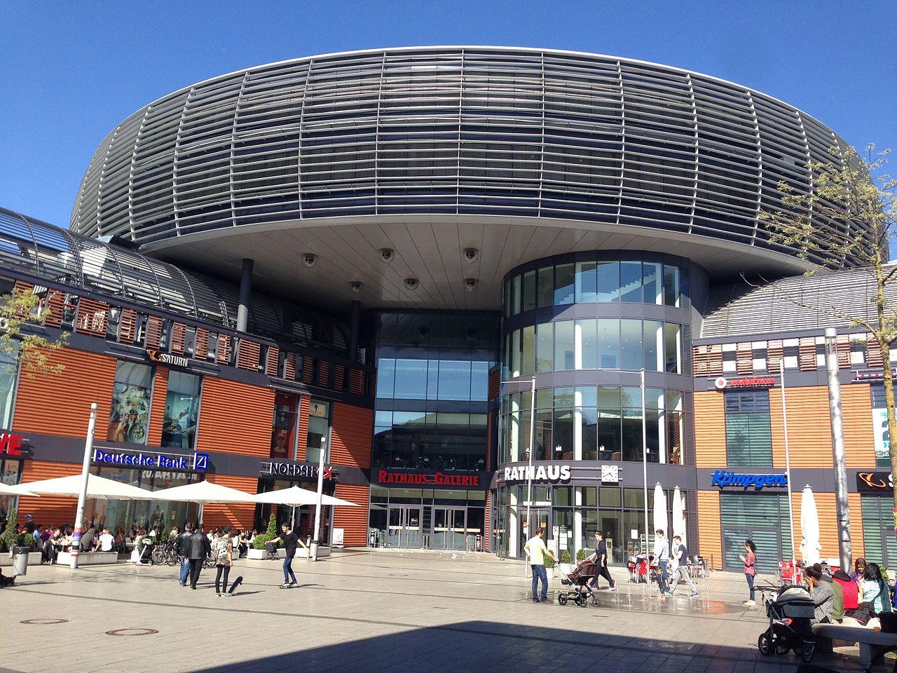 Rathaus Leverkusen (CC BY-SA 4.0 -wuppertaler)