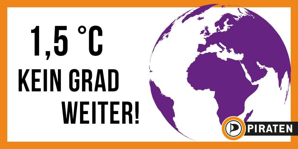 Klima: 1,5 Grad - Kein Grad weiter